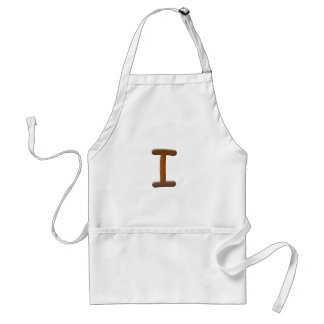 Cooked Brownie Monogram Aprons