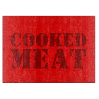 cooked Meat Cutting Board