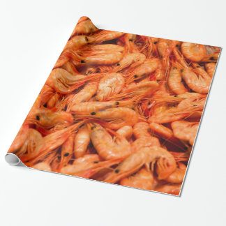 Cooked Shrimp Wrapping Paper