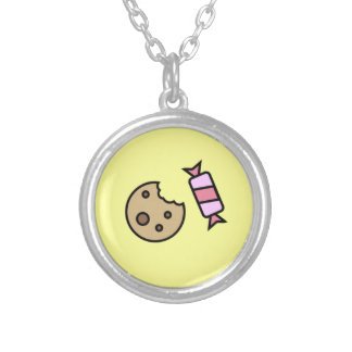 Cookie and Candy Pendant Necklace