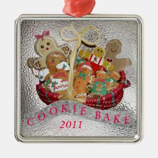 Cookie Bake Metal Ornament