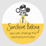 cookie cupcake bouquet baking gift tag stickers 3