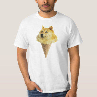 Cookie Doge Ice Cream Cone Shirt