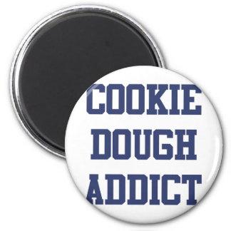 Cookie Dough Addict 6 Cm Round Magnet