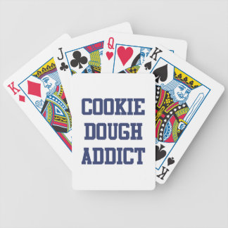 Cookie Dough Addict Bicycle Playing Cards