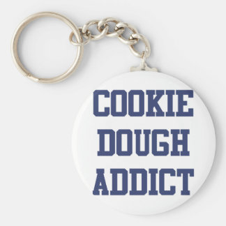 Cookie Dough Addict Key Ring