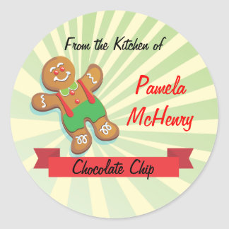 Cookie Exchange Bake Sale Labels