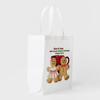 Cookie Exchange Goodie Reusable Bag