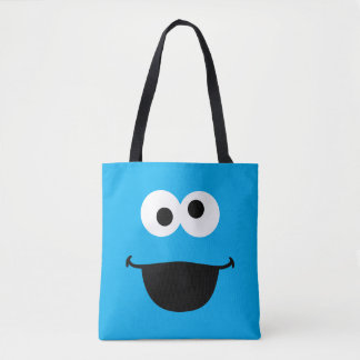 Cookie Face Art Tote Bag