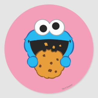 Cookie Face Classic Round Sticker