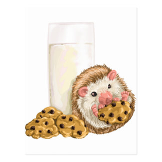 Cookie Hog Postcard