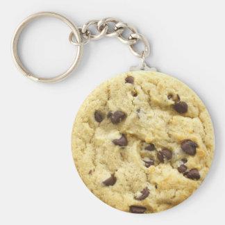 Cookie Keyring 0008 Basic Round Button Key Ring