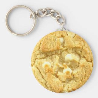 Cookie Keyring 0010 Basic Round Button Key Ring