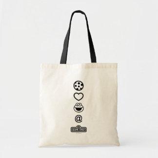 Cookie Love Cookie Monster Budget Tote Bag