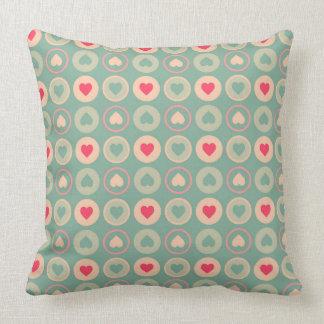 Cookie Love Retro Pattern Cushion