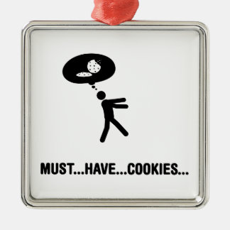 Cookie Lover Metal Ornament