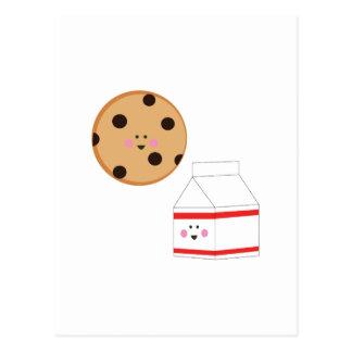 Cookie & Milk Postcards