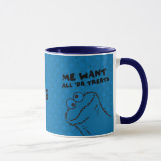 Cookie Monster - All 'Da Treats! | Add Your Name Mug