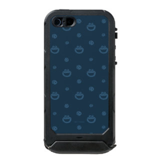 Cookie Monster and Cookies Blue Navy Pattern Incipio ATLAS ID™ iPhone 5 Case