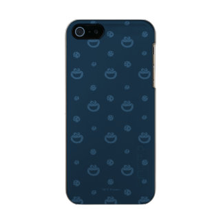Cookie Monster and Cookies Blue Navy Pattern Incipio Feather® Shine iPhone 5 Case