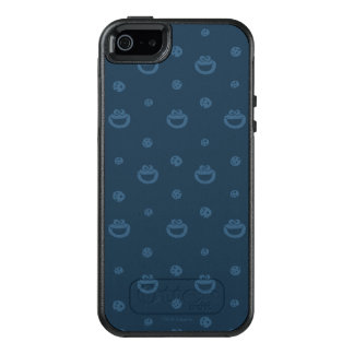 Cookie Monster and Cookies Blue Navy Pattern OtterBox iPhone 5/5s/SE Case