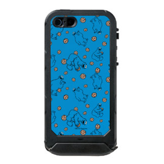 Cookie Monster and Cookies Blue Pattern Incipio ATLAS ID™ iPhone 5 Case