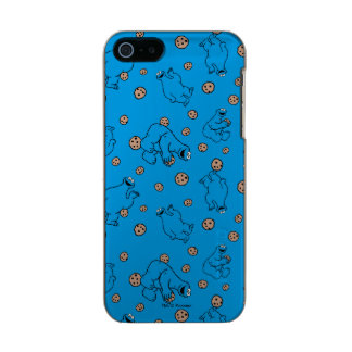 Cookie Monster and Cookies Blue Pattern Incipio Feather® Shine iPhone 5 Case