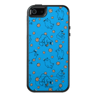 Cookie Monster and Cookies Blue Pattern OtterBox iPhone 5/5s/SE Case