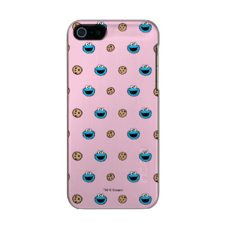 Cookie Monster and Cookies Pink Pattern Incipio Feather® Shine iPhone 5 Case