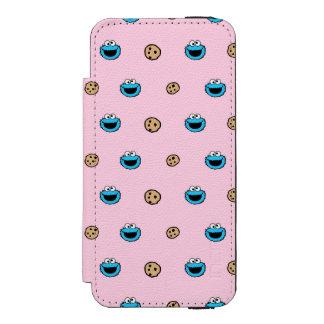 Cookie Monster and Cookies Pink Pattern Incipio Watson™ iPhone 5 Wallet Case