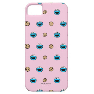 Cookie Monster and Cookies Pink Pattern iPhone 5 Cover