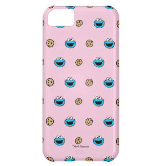 Cookie Monster and Cookies Pink Pattern iPhone 5C Case