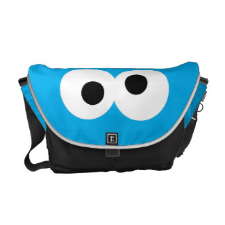 Cookie Monster Big Face Commuter Bags