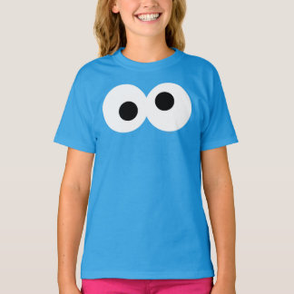 Cookie Monster Big Face T Shirts