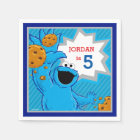Cookie Monster Birthday Paper Napkin