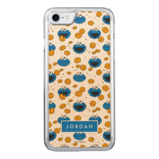 Cookie Monster | C is for Cookie Pattern Carved iPhone 8/7 Case