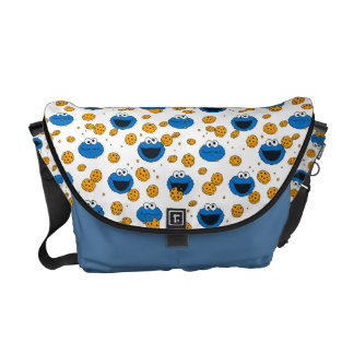 Cookie Monster | C is for Cookie Pattern Courier Bags