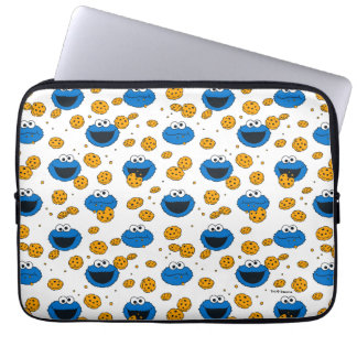 Cookie Monster | C is for Cookie Pattern Laptop Sleeve