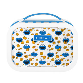 Cookie Monster | C is for Cookie Pattern Lunch Box