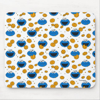 Cookie Monster | C is for Cookie Pattern Mouse Pad