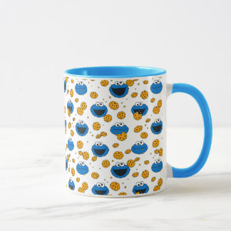 Cookie Monster | C is for Cookie Pattern Mug