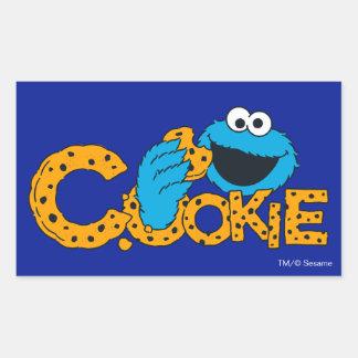 Cookie Monster | Cookie! Rectangular Sticker