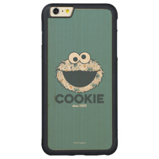 Cookie Monster | Cookie Since 1969 Carved® Maple iPhone 6 Plus Bumper Case