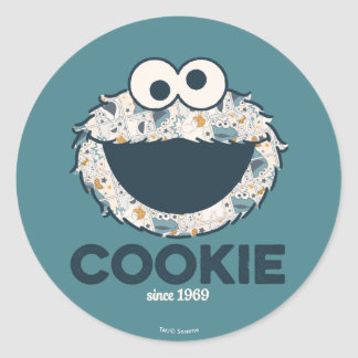 Cookie Monster | Cookie Since 1969 Classic Round Sticker