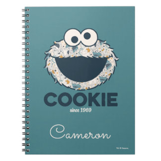Cookie Monster | Cookie Since 1969 Notebooks