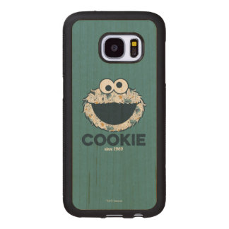 Cookie Monster | Cookie Since 1969 Wood Samsung Galaxy S7 Case