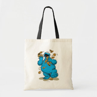 Cookie Monster Crazy Cookies Budget Tote Bag