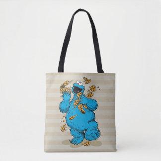 Cookie Monster Crazy Cookies Tote Bag