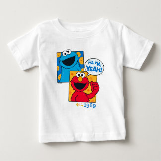 Cookie Monster & Elmo | Ha Ha Yeah Baby T-Shirt