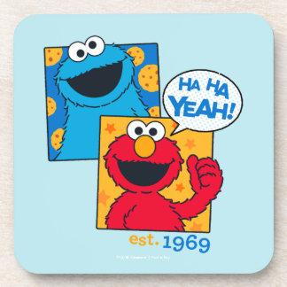 Cookie Monster & Elmo | Ha Ha Yeah Coaster